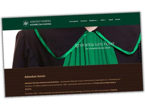 Strona Adwokat H.Kaźmierczak-Gubańskiej