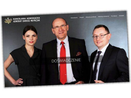 Strona internetowa adwokat-mlynczak.pl