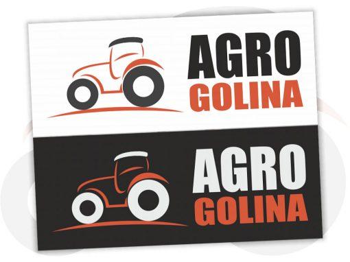 Projekt logo dla AgroGolina.pl