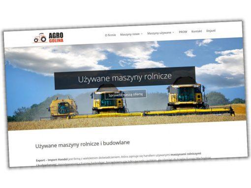 Strona internetowa AGROGolina.pl
