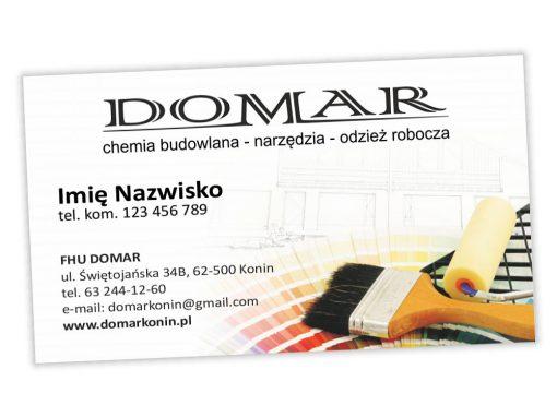 Wizytówki Domar Konin