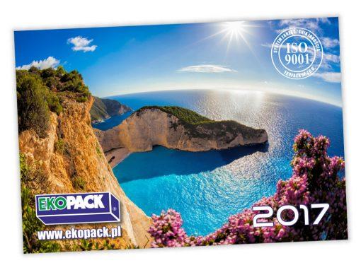 Kalendarze trójdzielne Ekopack 2017