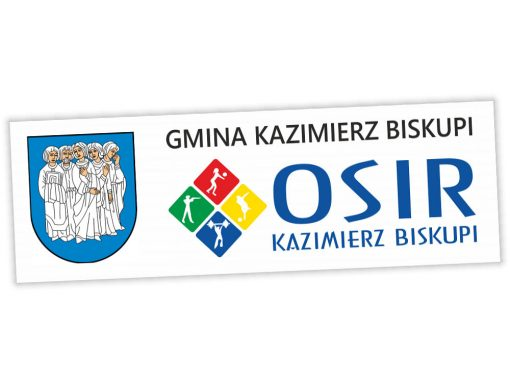 Baner reklamowy OSiR Kazimierz Biskupi