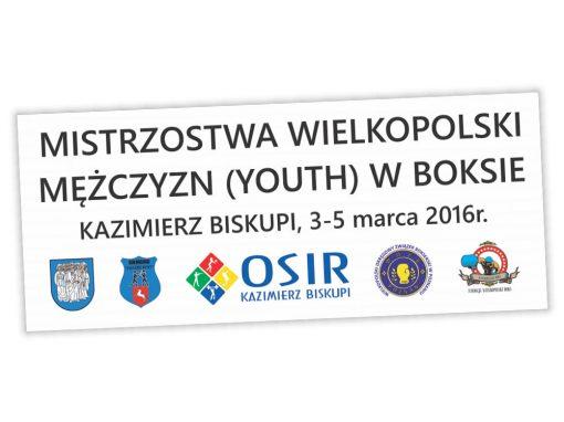 Baner Mistrzostw Wielkopolski w boksie