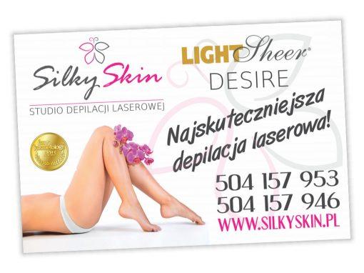 Bilboard reklamowy SilkySkin