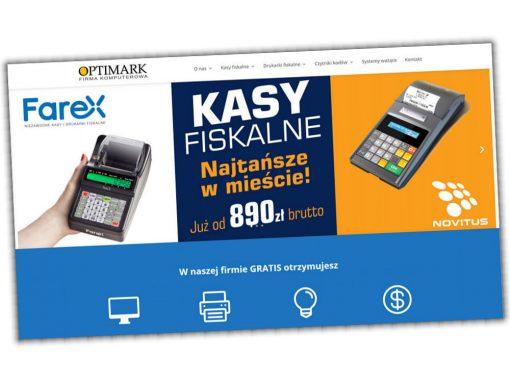 Strona internetowa Sprzedazkasfiskalnych.com.pl