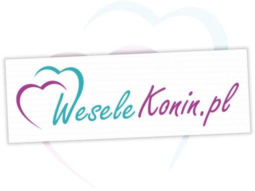 Projekt logo dla WeseleKonin.pl