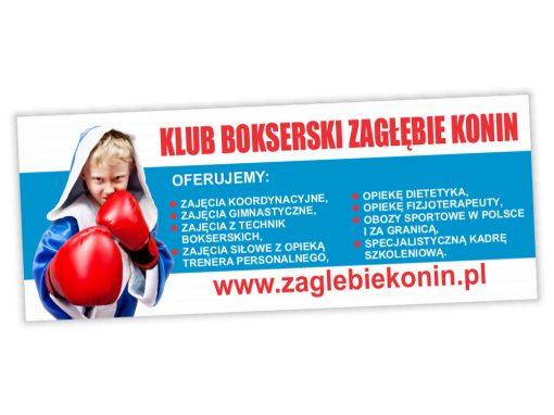 Baner reklamowy Zagłębie Konin