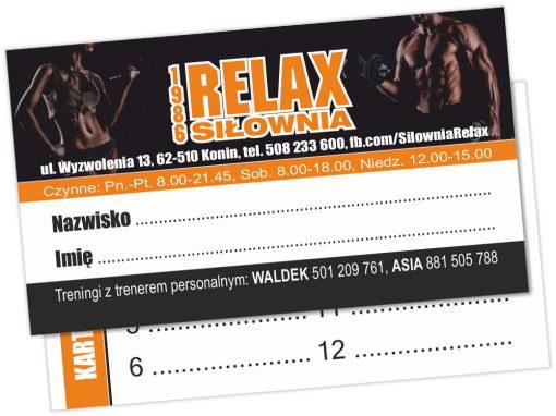 Karnet dla Siłowni Relax