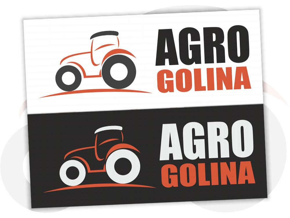 Projekt graficzny logo dla AgroGolina.pl