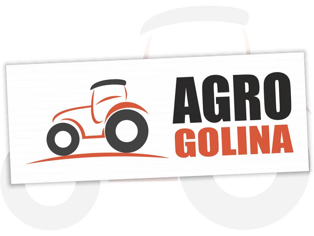 Projekt graficzny logo dla AgroGolina.pl na jasnym tle