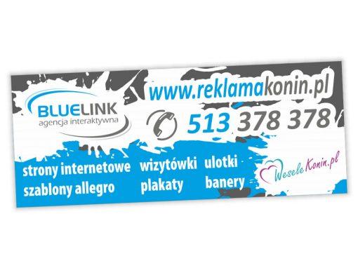 Baner reklamowy Bluelink