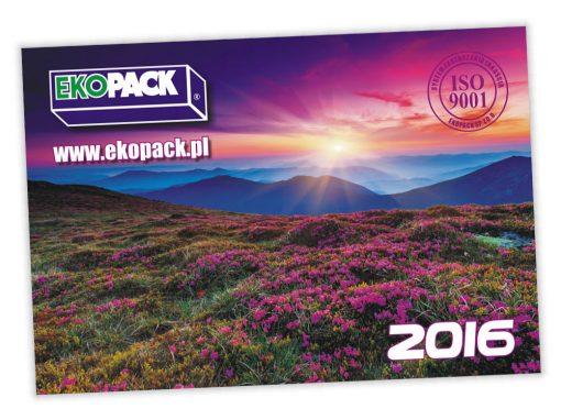 Kalendarze trójdzielne Ekopack 2016