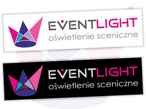 Projekt logo dla EventLight
