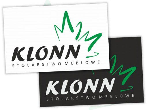 Projekt logo dla firmy Klonn