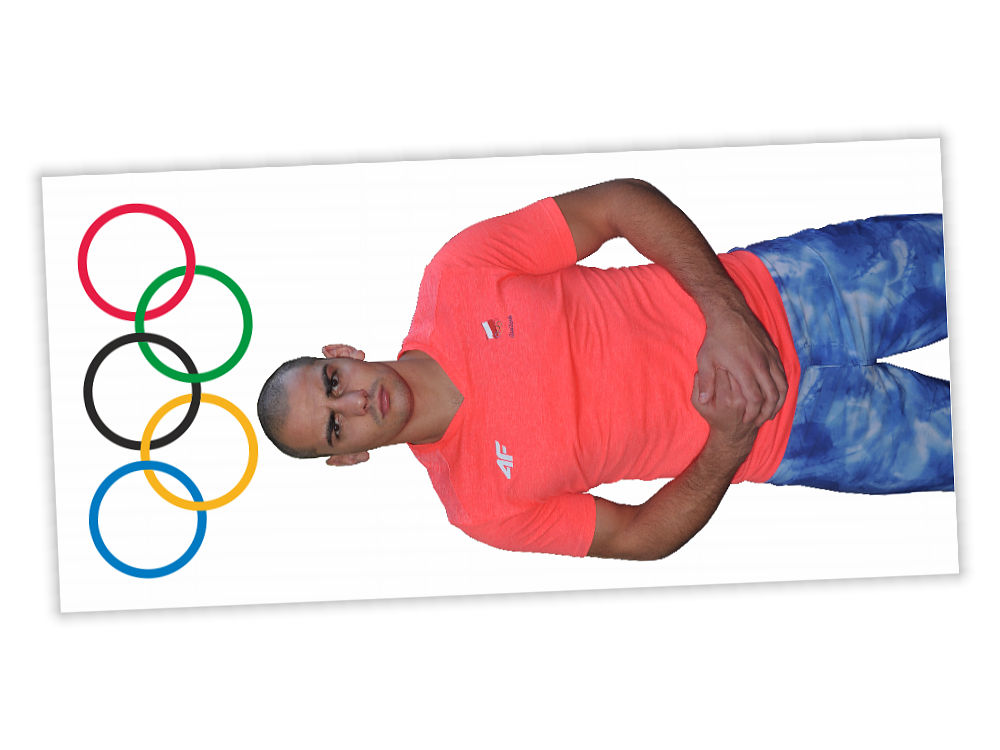 Zaproszenie na kolację z olimpijczykiem Igorem Jakubowskim - tył
