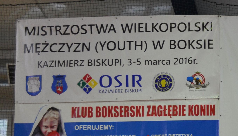Baner Mistrzostw Polski w Boksie 300x125cm