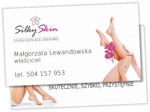 Wizytówki SilkySkin