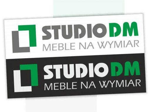Projekt logo dla StudioDM