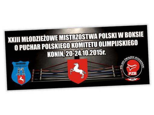 Projekt banera MMP w boksie