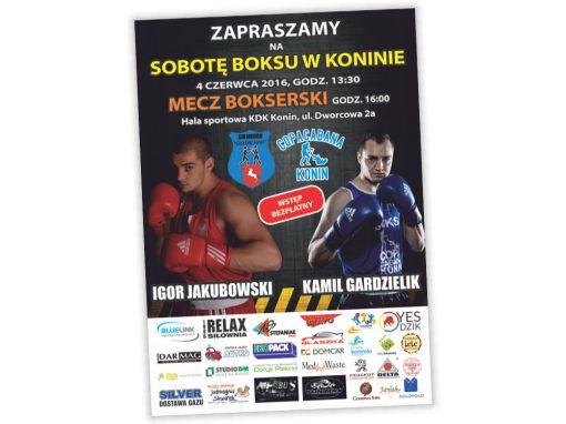 Plakat A2 Sobota Boku w Konine