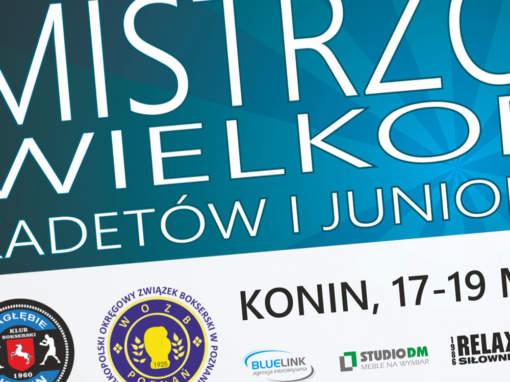 Mistrzostwa Wielkopolski w Boksie Konin 2017