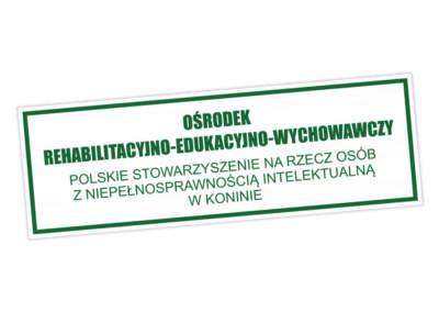 Tablica informacyjna OREW Konin