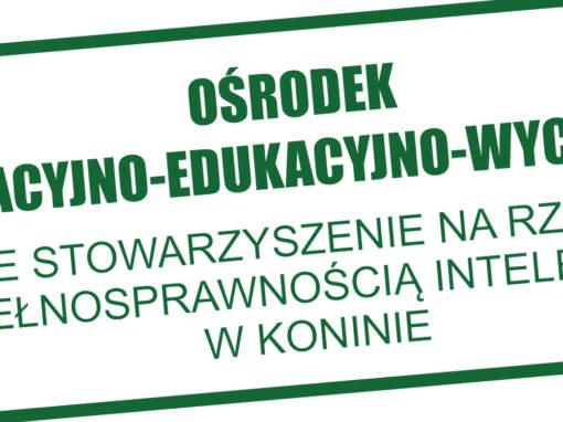 Tablice informacyjne dla OREW Konin