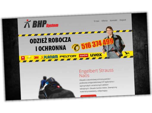 Strona internetowa bhp-system.pl