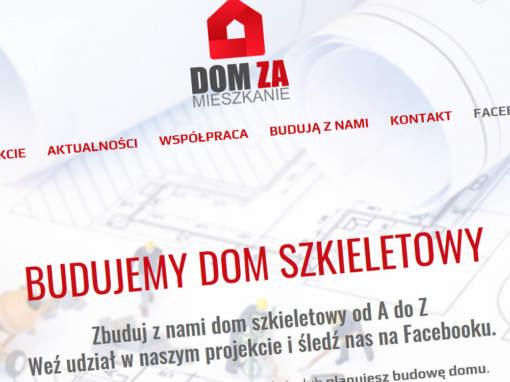 Strona projektu DOMzaMIESZKANIE.pl