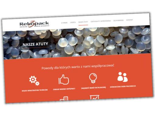 Strona internetowa rekopack.pl