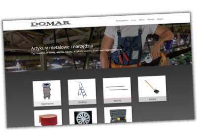 Strona internetowa Domar Konin