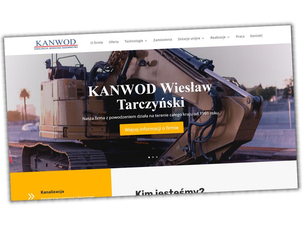 Strona internetowa Kanwod.pl