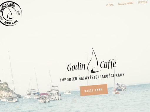 Strona internetowa Godin Caffe