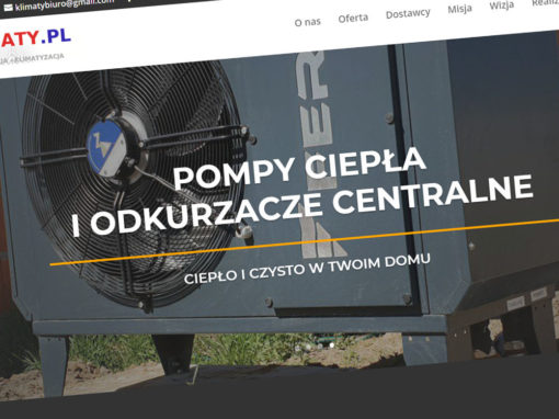 Strona internetowa rekuperacjakonin.pl